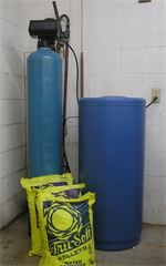Water Softener used to treat the natural hard water in West Texas.