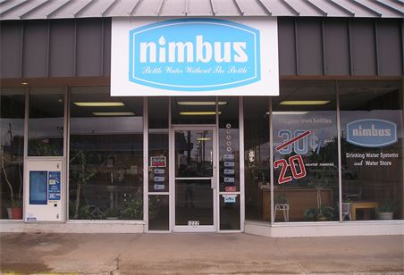 The front of Nimbus Drinking Water Systems.